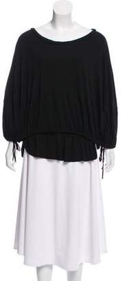 Nicholas Layered Cape-Style Top