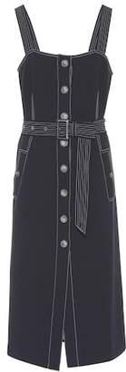 Veronica Beard Adora button-front dress