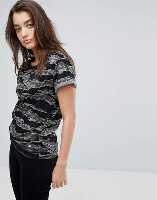 G Star G-Star Knotted Camo T-Shirt