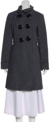 Soia & Kyo Double-Breasted Wool Coat w/ Tags