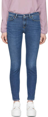Acne Studios Bla Konst Blue Climb Jeans