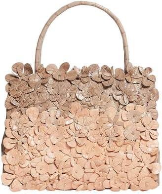 Nancy Gonzalez Small Crocodile Wallis Floral Tote