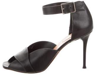 Celine Leather High-Heel Sandals