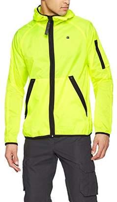 G Star Men's Strett HDD Overshirt Jacket, (Neon Yellow 8248), X-Large