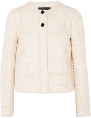 Proenza Schouler Lady Cotton-blend Bouclé-tweed Jacket - Off-white