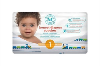 The Honest Company Diapers, Size 1, Trains