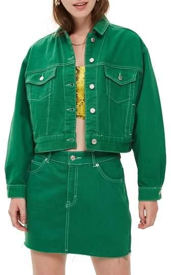 Topshop Boxy Denim Jacket