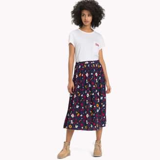 Tommy Hilfiger Floral Wrap Skirt