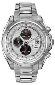 Citizen Titanium Chronograph Bracelet Watch