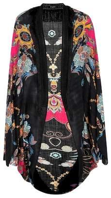 Etro Cashmere and silk cape