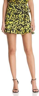Parker Lieanna Lemon Mini Skirt