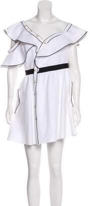 Self-Portrait Asymmetrical A-Line Dress
