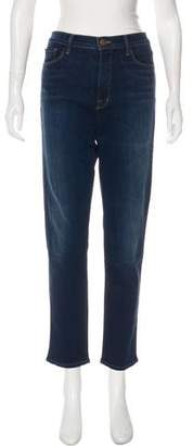 J Brand High-Rise Straight-Leg Jeans w/ Tags