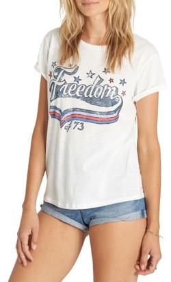 Women's Billabong Freedom Summer Tee $22.95 thestylecure.com