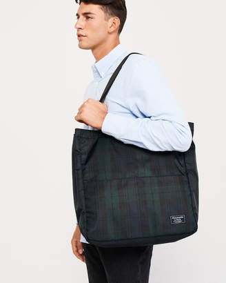 Abercrombie & Fitch Plaid Tote