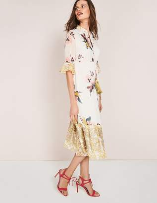 Boden Cressida Tassel Dress