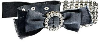 Lanvin Women's Crystal-Embellished Bow Choker $1,290 thestylecure.com