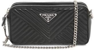 Prada Quilted Nappa Leather Shoulder Bag