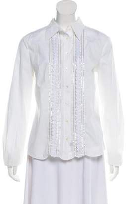 Dolce & Gabbana Embellished Button-Up Top
