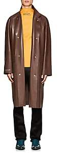 Calvin Klein Men's Rubber Trench Coat-Brown Size 46 Eu