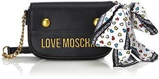 Love Moschino Nappa Grain Pu Nero, Women's Baguette,6x12x19 cm (B x H T)