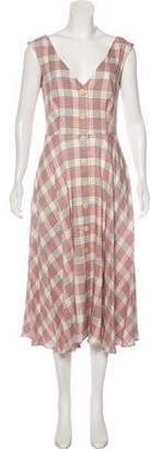 Veronica Beard Plaid A-line Dress w/ Tags