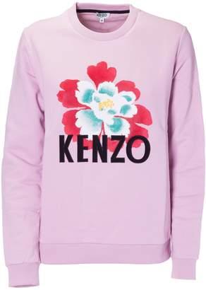Kenzo Flower Motif Sweatshirt