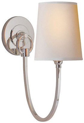 Thomas O'Brien For Visual Comfort Reed Sconce - Polished Nickel