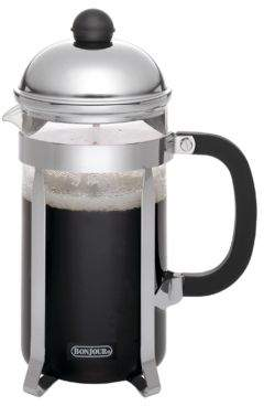 Bonjour Stainless Steel Coffee French Press