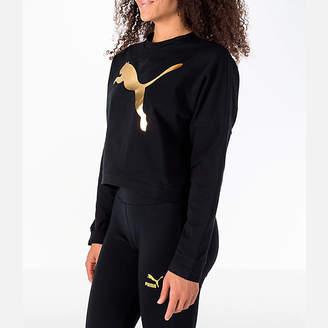 Puma Women's Rebel Crop Sweatshirt