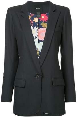 Smythe long notched collar blazer