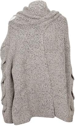 See by Chloe Draped Scarf Detail Top