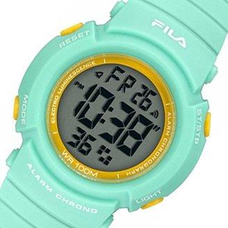 Fila (フィラ) - フィラ FILA クオーツ デジタル レディース 腕時計 38-212-005 ライトグリーン[逆輸入品] [t-1]