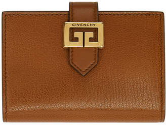 Givenchy Tan GV3 Card Holder