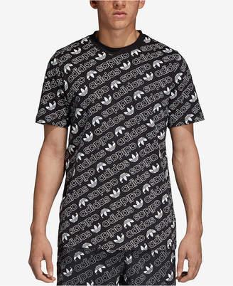 adidas Men's Originals Logo-Print T-Shirt