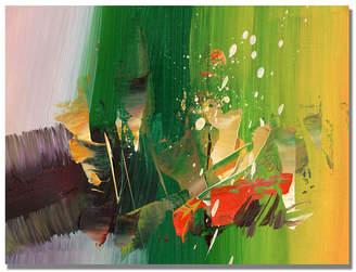 """Abracada Bra Tapia 'Abracadabra I' Canvas Art - 47"""" x 35"""""""