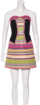 Milly Mini Strapless Dress w/ Tags