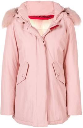 Freedomday padded hooded jacket