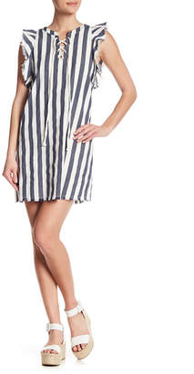 Sugar Lips Sugarlips Mirabella Striped Shift Dress