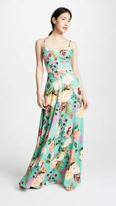 Amanda Uprichard Sunrise Maxi Dress