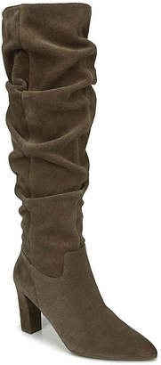 fe624ff28c3 Franco Sarto Brown Suede Upper Women s Boots - ShopStyle