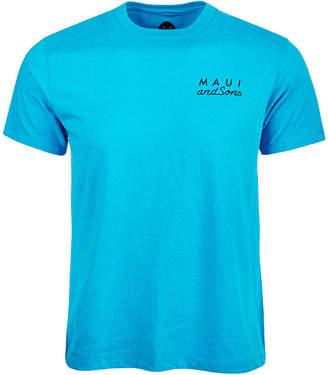 Maui and Sons Men Cookie Logo Shirt
