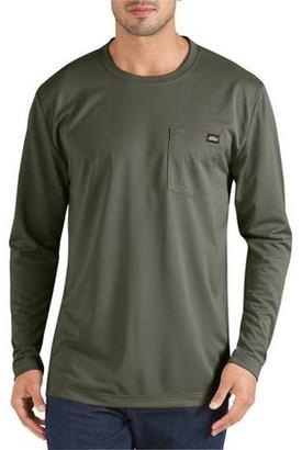 Dickies Genuine Men's Long Sleeve Performance Pocket T-Shirt