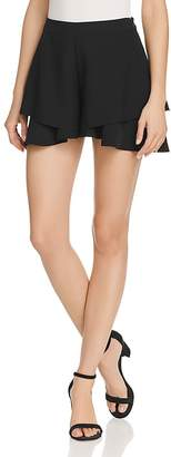 Aqua Tiered Ruffled Shorts - 100% Exclusive