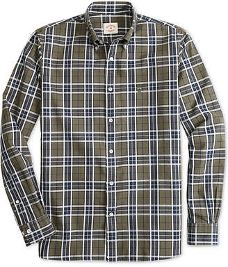 Brooks Brothers Red Fleece Men's Slim-Fit Basketweave Plaid Shirt