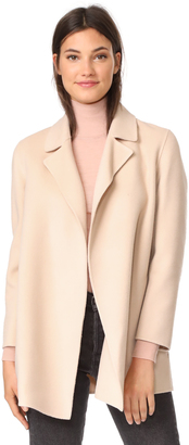 Theory Clairene Wool Coat $595 thestylecure.com