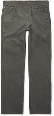 Visvim Fluxus 02 Slim-Fit Cotton-Corduroy Trousers