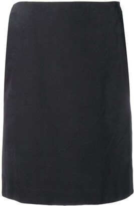 Gianfranco Ferre Pre-Owned 1990's straight slit skirt