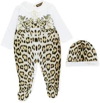 Roberto Cavalli leopard print pyjamas