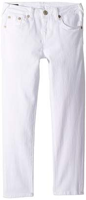 True Religion Casey Ankle Skinny in Bleached White Girl's Jeans